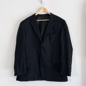 Black suitcoat size 46L